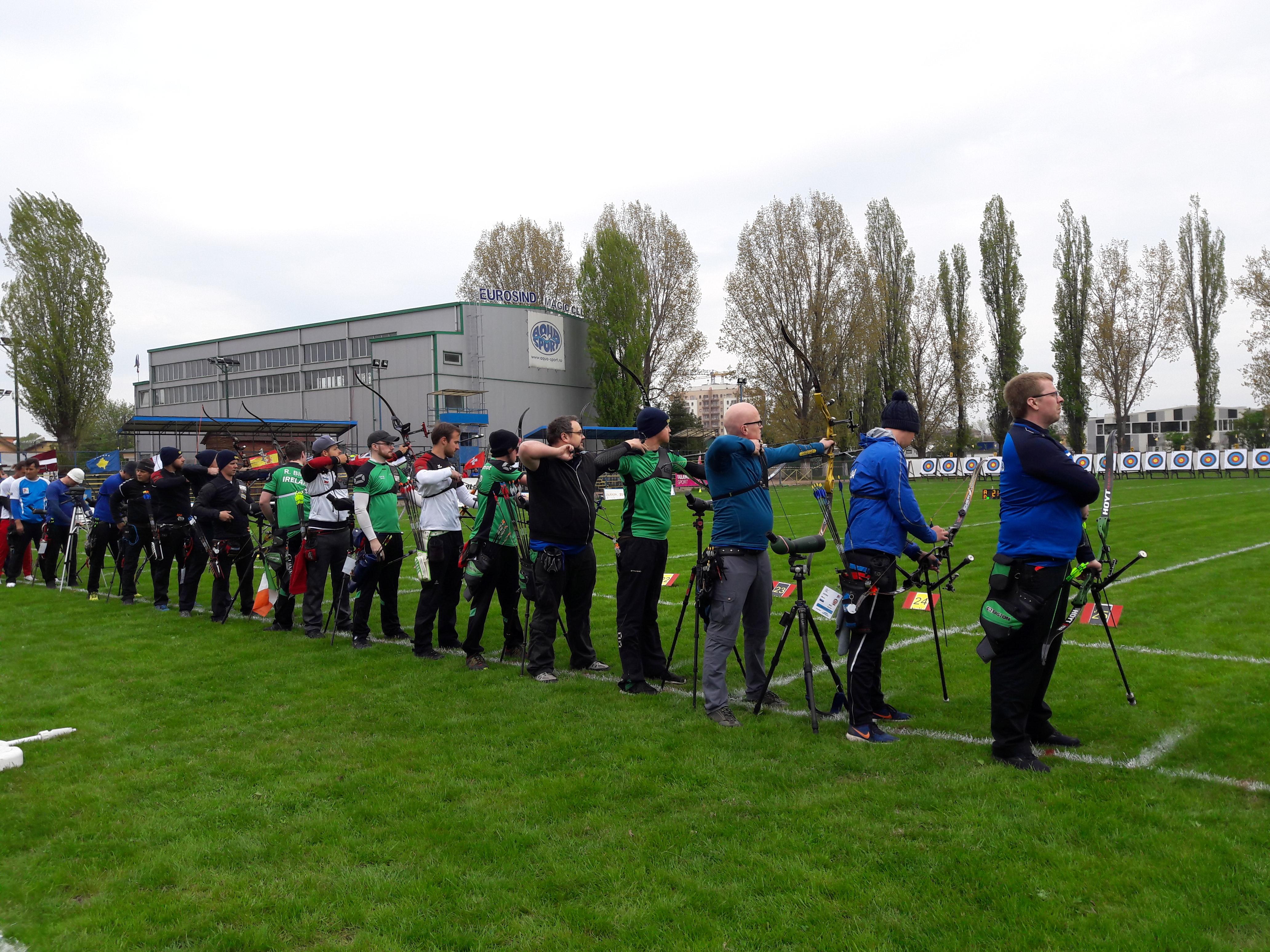 Fjör á European Grand Prix - Archery.is